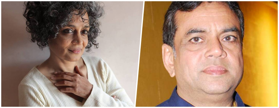 BJP MP Wants Army to Abduct, Hold Arundhati Roy Hostage to Deter Kashmiri 'Stone Pelters'